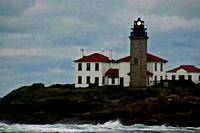 Light House on the Rocks